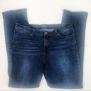 Lucky Brand Brooke Straight Jeans Sz 14/32